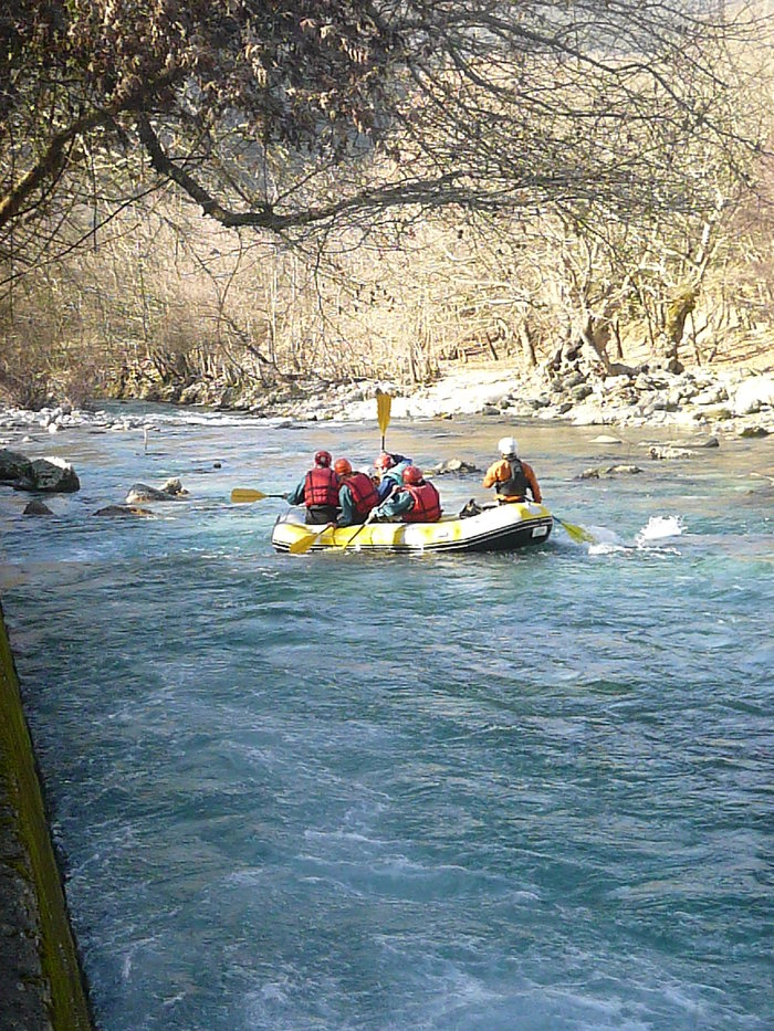 Rafting στον ποταμό Βοϊδομάτη