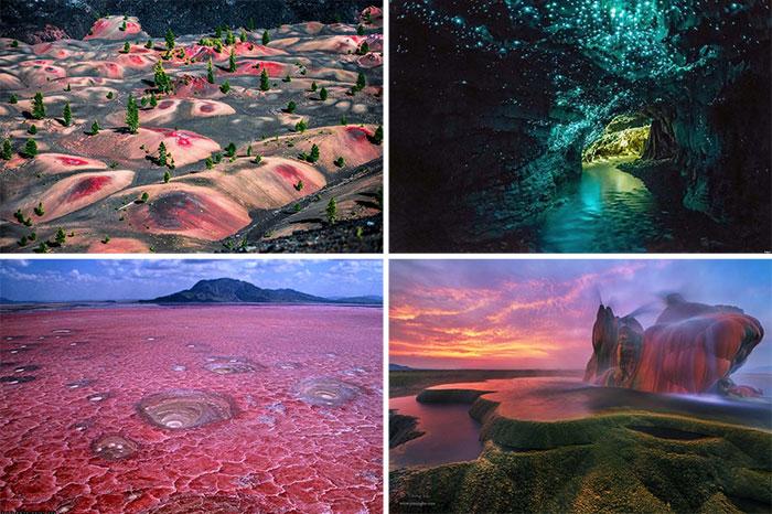 20 εκπληκτικά μέρη που μοιάζουν βγαλμένα από άλλο πλανήτη