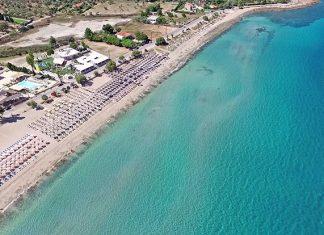 Παραλία Αλυκές Δροσιάς, Χαλκίδα