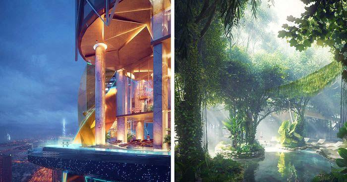 Το πρώτο ξενοδοχείο στον κόσμο με το δικό του τροπικό δάσος (1)