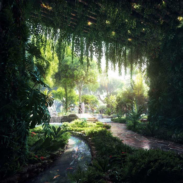 Το πρώτο ξενοδοχείο στον κόσμο με το δικό του τροπικό δάσος (2)