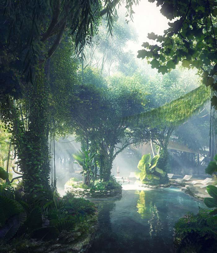 Το πρώτο ξενοδοχείο στον κόσμο με το δικό του τροπικό δάσος (4)