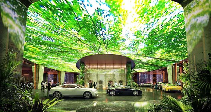 Το πρώτο ξενοδοχείο στον κόσμο με το δικό του τροπικό δάσος (9)